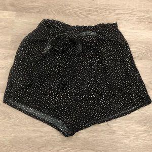 Kendall & Kylie Polkadot Wrap Shorts Size S/M